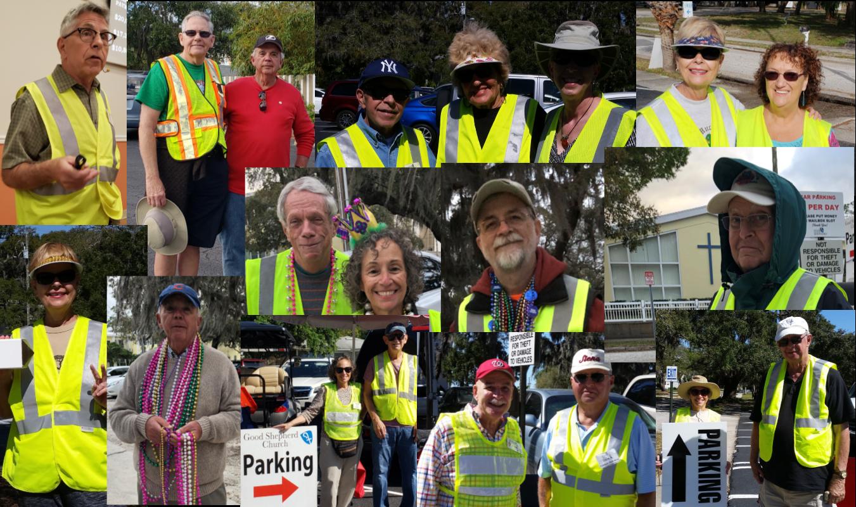 Parking Ministry Team Members